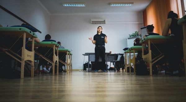 Terapia Funkcjonalna Joanna Tokarska, Damian Kapturski zdjęcie wykonane przez Joannę Tokarską na kursie PNF