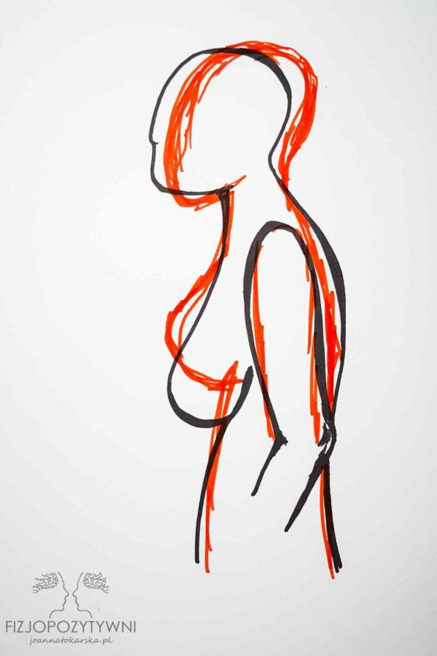 Czy plecy mogą boleć od piersi?