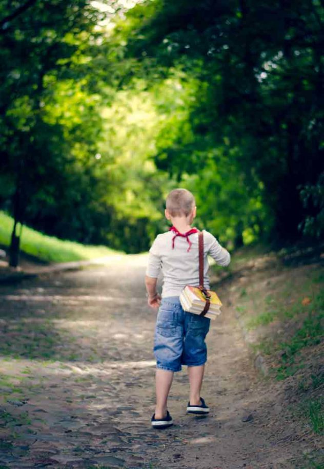Jak wybrać plecak dla dziecka? podejście pod górę Joanna Tokarska joannatokarska.pl