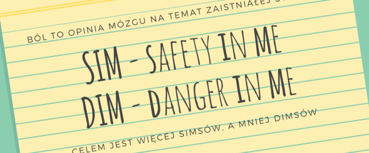 Joanna Tokarska SIM - safety in meDIM - danger in me joannatokarska.pl