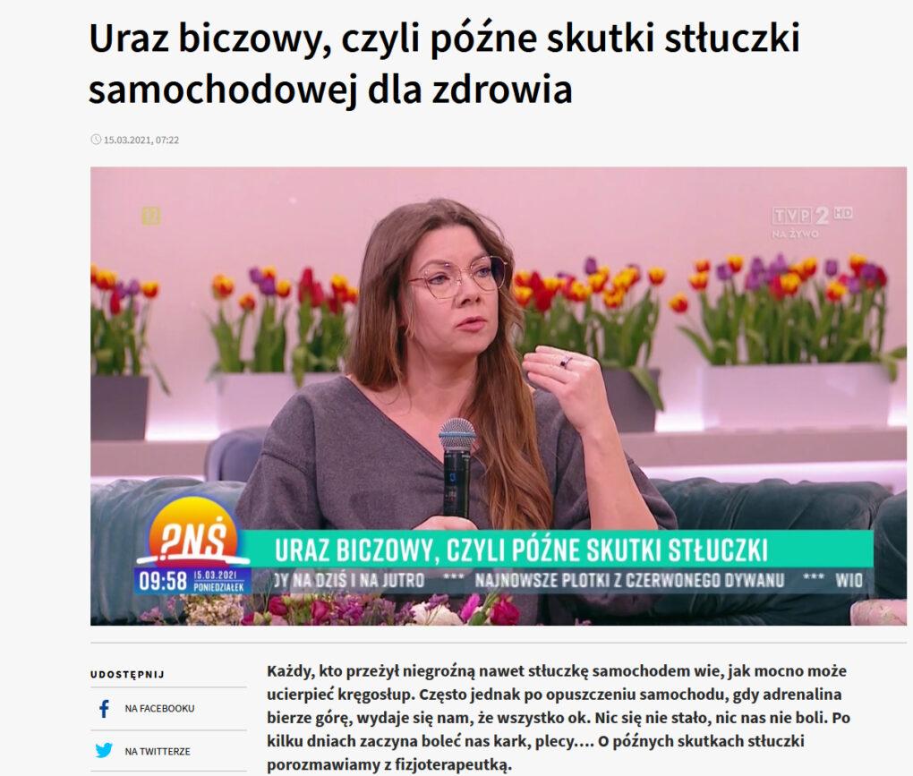 Kim jestem Uraz biczowy Fizjopozytywnie o zdrowiu Joanna Tokarska. Podcast o fizjoterapii fizjo-podcast. joannatokarska.pl